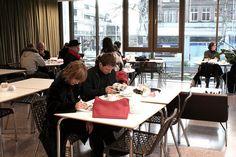 Camden Arts Centre's Cafe.
