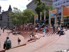Pioneer Courthouse Square | Portland, OR.