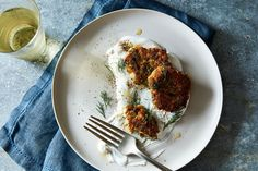 Middle Eastern Zucchini Fritters recipe on Food52