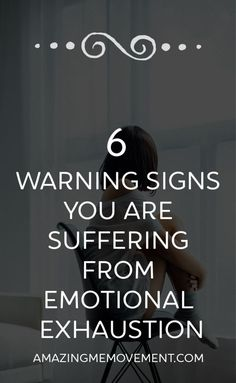 6 warning signs you are mentally and emotionally exhausted. Do you have any of these signs?It may be time for some self care. Motivational Blogs, Emotionally Exhausted, Lack Of Motivation, Good Mental Health, Psychology Facts, Warning Signs, Coping Skills, Me Time, Stress Management