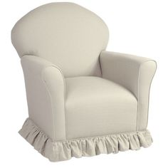 Royal Glider in Custom Fabrics from PoshTots  $1,005 minumum with shipping and ottoman
