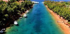 Τι να δεις στο πρώτο πόδι Χαλκιδικής! Διώρυγα ΠοτίδαιαςΤα καλύτερα αξιοθέατα στο πρώτο πόδι Χαλκιδικής! | ediva.gr Macedonia, Greece, Places To Visit, River, History, Beach, Nature, Outdoor, Holidays