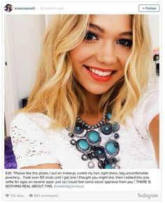 """Abbie Schofield discusses the falsities ofsocial media, comparing yourself to others and faux """"body confidence"""" bloggers"""