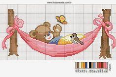Artisanat: Belles motifs de broderie pour les enfants / enfants charmants traversent des motifs de points