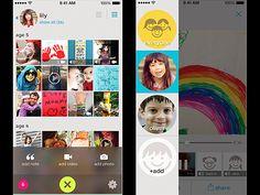 Keepy app - saving kids' art work digitally.