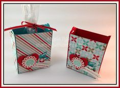 Stamping With Amore: Stampin'Up Scalloped Tag Topper Box