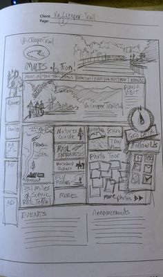 PLANNING YOUR WEB DESIGN WITH SKETCHES (Good Article)