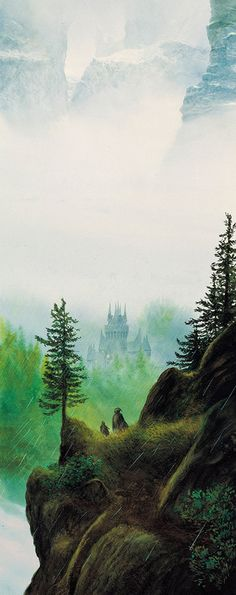 John Howe - The Lord of the Rings