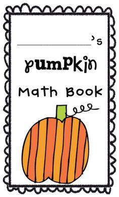 Pumpkin Measurement Math Mini-Book