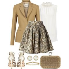 A fashion look from February 2017 featuring Joseph blouses, Lanvin blazers и Leo skirts. Browse and shop related looks.