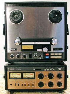 Teac A-7300RX 2 track reel to reel recorder.