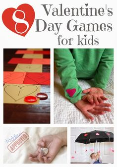 8 Valentine's Day Games for Kids. {Toddler Approved!}