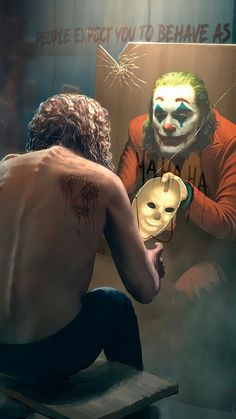 Joker, Joaquin Phoenix Le Joker Batman, Batman Joker Wallpaper, Der Joker, Joker Iphone Wallpaper, Joker Comic, Joker Wallpapers, Joker And Harley Quinn, Batman Artwork, Iphone Wallpapers