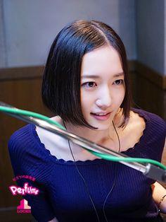 Perfume Jpop, Japanese Girl Group, Girl Short Hair, Dance Music, Girl Hairstyles, Locks, Short Hair Styles, Lavender, Beautiful Women