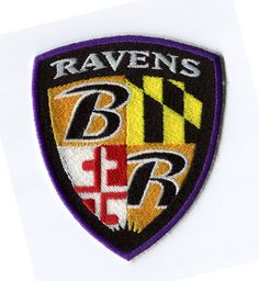 SALE Baltimore Ravens Iron On Patch by marmota2