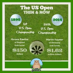 U.S. Open Prize Money: Then & Now! #Golf #Facts