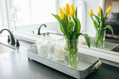 Rectangular Serving Tray with Wood Handles | The Magnolia Market