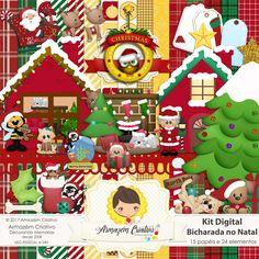 Kit digital bicharada no natal
