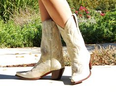 My Dan Post boots.  I just got some in gray!  love them!!