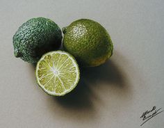 "Check out new work on my @Behance portfolio: ""3D Drawing Limes"" http://be.net/gallery/48925569/3D-Drawing-Limes"