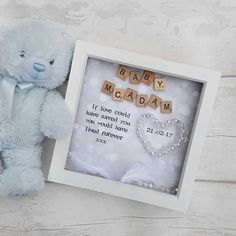 A beautiful way of rememberence. Any words of your choice can be used. Names/ personalisation can be added at no extra cost.