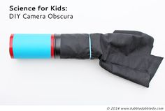 DI Camera Obscura- OOoh! How cool! Photography and science activity for kids