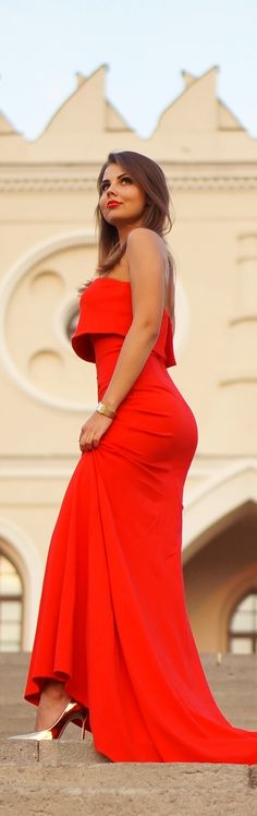 Red Maxi Dress / Fashion By A Piece Of Anna