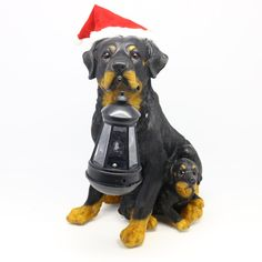 You'll love the Solar Christmas Dog and Puppy at Wayfair - Great Deals on all Outdoor products with Free Shipping on most stuff, even the big stuff.