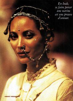 Christy for Jean-Paul Gaultier, s/s 1994 Christy Turlington, Jean Paul Gaultier, Pierre Cardin, People Like, Pretty People, Maybelline, Montage Photo, Body Adornment, Fashion Week
