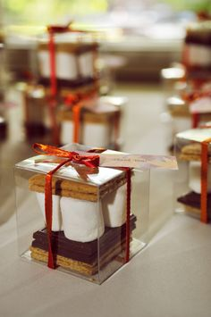 so chic and sooo simple to make (wedding favors idea)