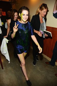Celeb Diary: Kristen Stewart @ 2013 Nickelodeon Kids Choice Awards