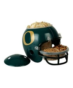 Take a look at the Oregon Ducks Snack Helmet on #zulily today! I want this for the coming football season!