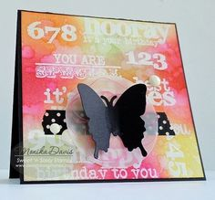 Sweet 'n Sassy Stamps Birthday Word Art