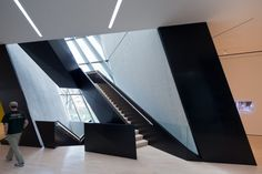 Architecture - Eli and Edythe Broad Art Museum | Living Room Ideas, Interior Design, Home Design, House Design