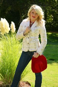 #fashion at the National Cowboy Hall of Fame - Botanical Embroidered Jacket by Paparazzi