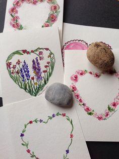 Painting Hearts, Tisha Sheldon watercolor