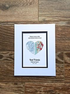 Long Distance Friendship Relationship Gift- Gift for Best Friend- Movi – Paper'd Moments