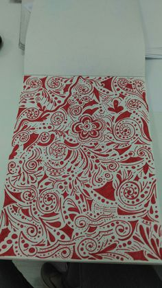 #red&white#draw