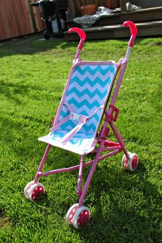 DIY Doll Stroller Liner tutorial- ours keeps ripping