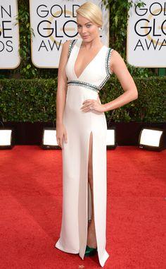 Margot Robbie from 2014 Golden Globes: Red Carpet Arrivals | E! Online