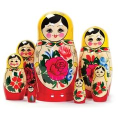Russian Matryoshka Nesting Dolls (7 Pieces), 2015 Amazon Top Rated Nesting Dolls #Toy