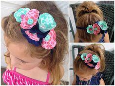 DIY No-Sew Fabric Flower Headband-Dawn Warnaar for Silhouette