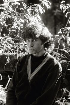 Jim Morrison Photographed by Bobby Klein. 1966.