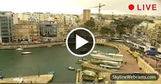 Splendid view of St. Julian's and Spinola Bay #Malta #Travel #Live #Webcam