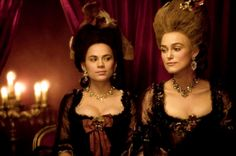 Hayley Atwell as Lady Elizabeth Foster and Keira Knightley as Georgiana Cavendish, Duchess of Devonshire in The Duchess Georgiana Cavendish, Film Ratings, The Duchess Of Devonshire, Best Costume Design, Period Movies, Period Dramas, Hayley Atwell, Film Images, Peggy Carter