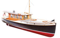 Wedge Point Semi-displacement Trailerable Classic Cruising Launch ~ Small Boat Designs by Tad Roberts Wooden Boat Kits, Wooden Boat Building, Wooden Boat Plans, Boat Building Plans, Cool Boats, Small Boats, Yacht Boat, Pontoon Boat, Yacht Design