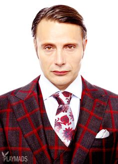 Hannibal looks just too freaking perfect - so perfect you could just eat him but I wouldn't cos that would just be rude