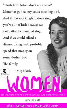 Meg March of Little Women is ripe, ripe for satire.