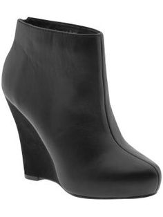 Wedge Ankle boots very similar to mine! One of my favorites pairs of boots!