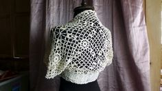 """Bébé lace shrug  Hand-crocheted, 100% mercerised cotton  Vintage crochet lace pattern design  Fits size 16-17 (European) or 6-8 (US) or Bust 28""""-32""""      Price: US$50.00  Quantity: Only 1    Shipping  I ship via Philpost Registered Mail at least once a week, usually on a Monday or Tuesday. Balilihan ships internationally for US$15.00. Domestic shipping is US$3.00.    Returns and Cancellations  Please read the shop policies via the link at the bottom of this page.    Payment Options  Your…"""